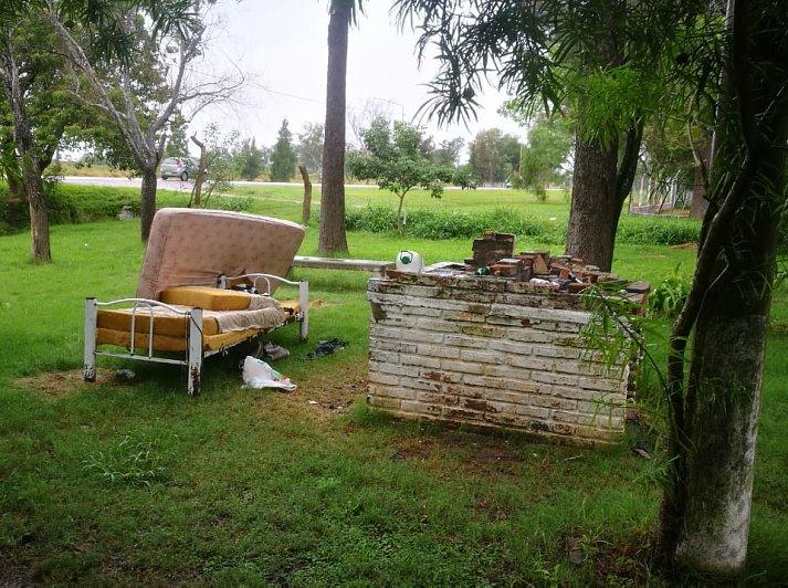 Encontraron sin vida a un hombre en un parque de San Cristóbal