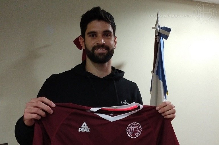 Nicolás Orsini jugará en Lanús la próxima Súper Liga