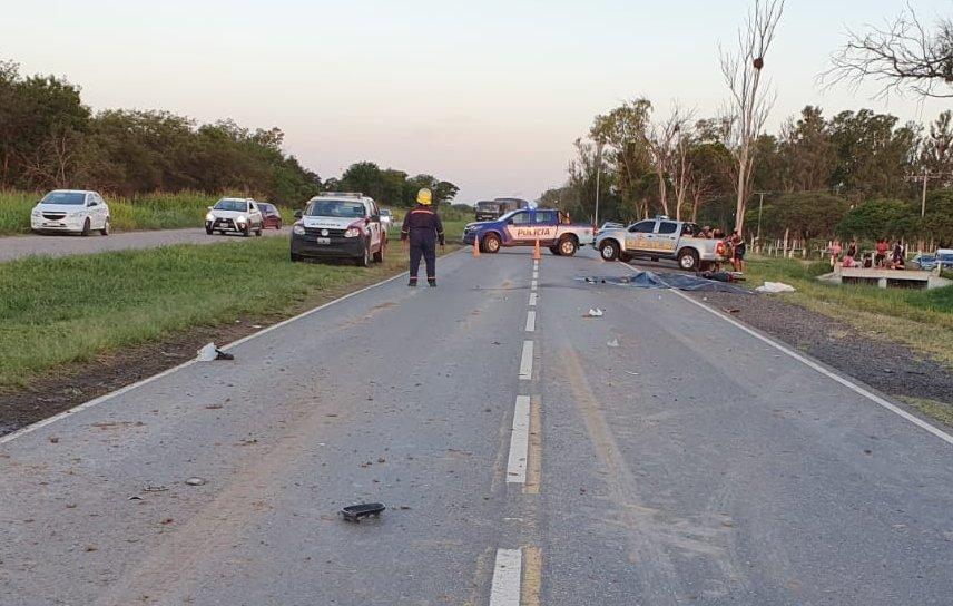 Un motociclista murió en un accidente en Marull