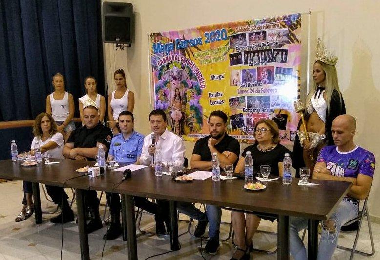 Presentaron los Mega Corsos 2020 de Porteña