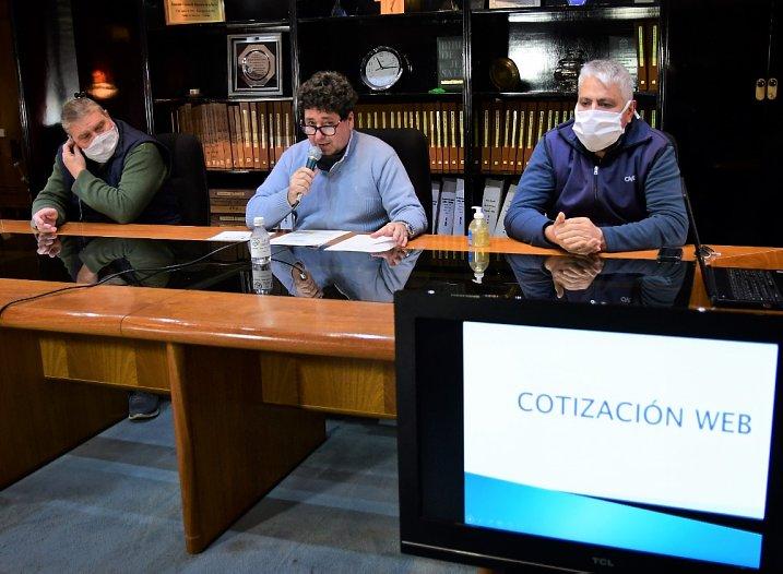 Morteros: Implementaron sistema de cotización on line para proveedores