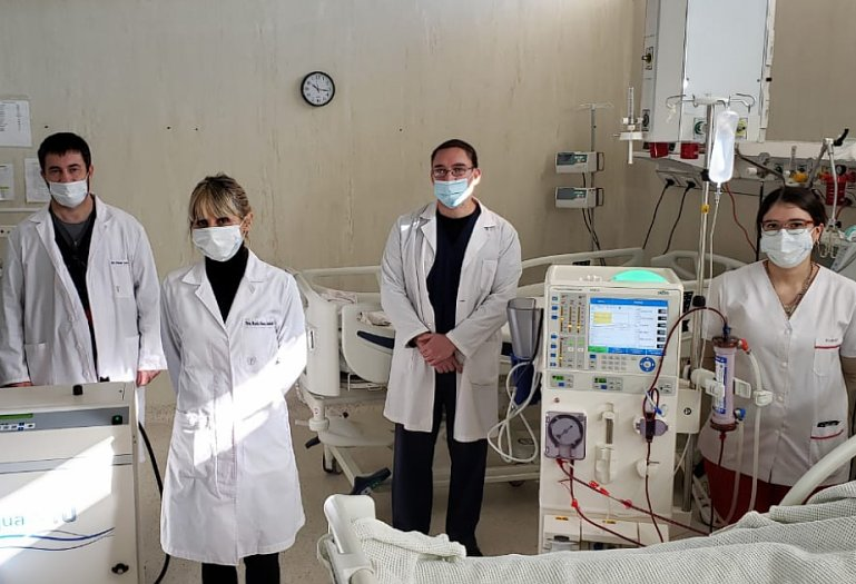 Se realizó la primera diálisis en el Hospital Ferré de Rafaela