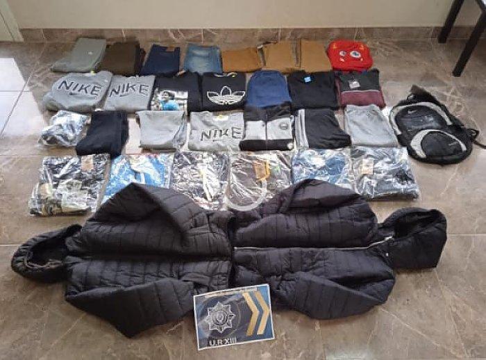Recuperaron ropa robada desde un local comercial de Suardi