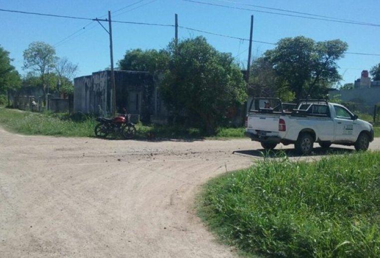 Motociclista lesionado en un accidente en San Cristóbal