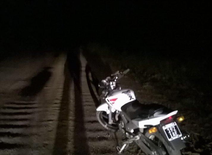 Motociclistas lesionados en un accidente en Ñanducita