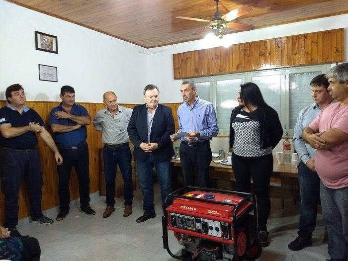 Michlig entregó aportes a instituciones de San Cristóbal