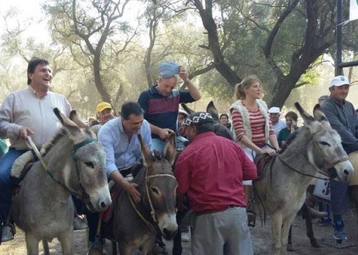 Brinkmann palpita la 2° maratón de burros