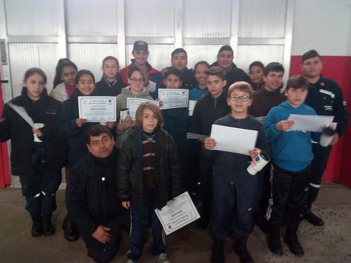 Suardi: Cadetes de Bomberos participaron de un encuentro regional