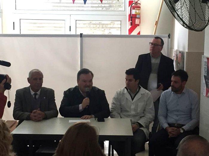 Nuevos aportes de Michlig a instituciones de Suardi