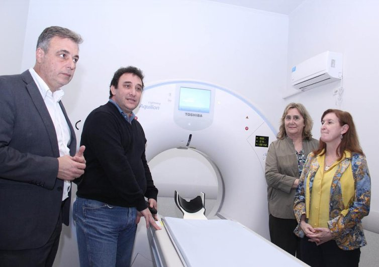 Inauguraron el tomógrafo del Hospital de Rafaela