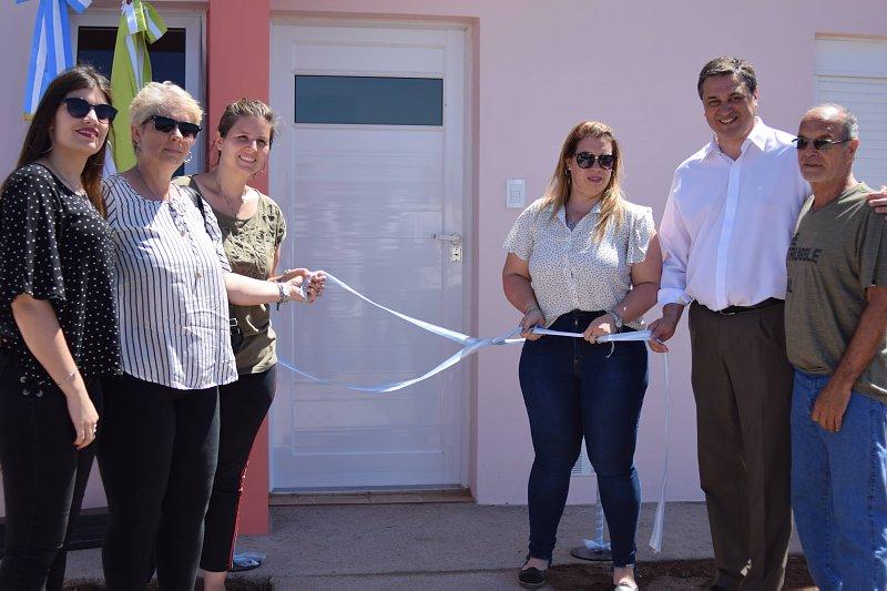 Brinkmann: Inauguraron una nueva vivienda del plan